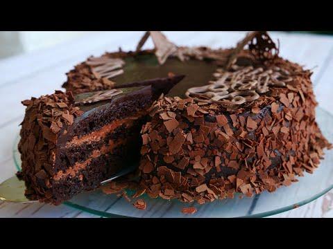 Торт «Шоколадный Бархат»  Для Любителей Шоколада