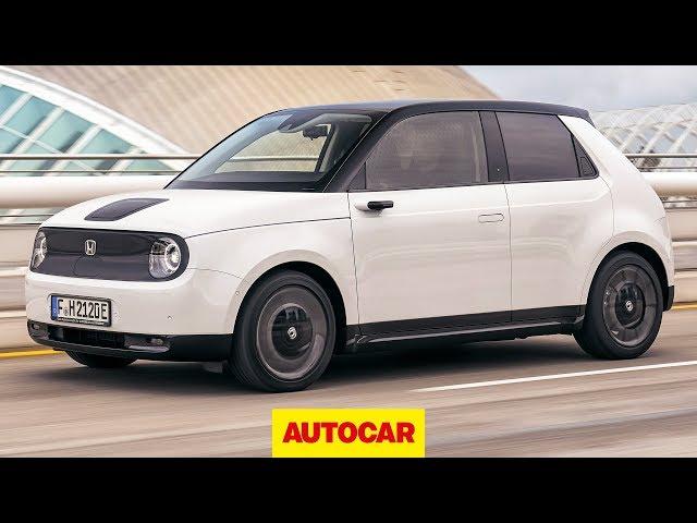 NEW Honda e 2020 review   First drive   Autocar