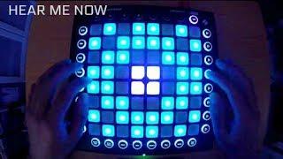 Alok, Bruno Martini feat. Zeeba - Hear Me Now (Launchpad Pro Cover)