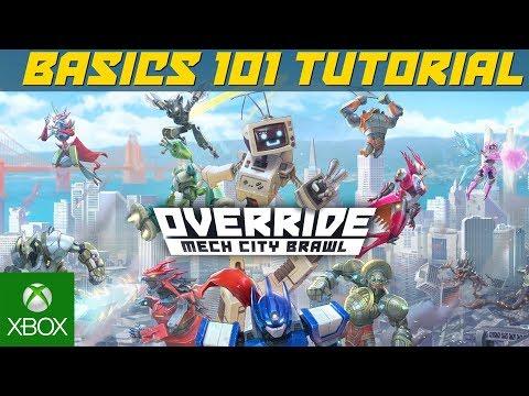OVERRIDE: MECH CITY BRAWL - Basics 101 Tutorial