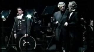 Plácido Domingo, José Carreras y Alejandro Fernández -VOLVER, VOLVER-May-2005-..mpg