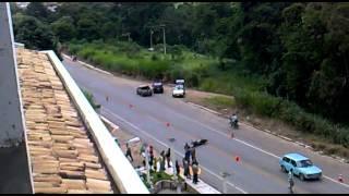 atropelamento fatal em ponte nova( completo)