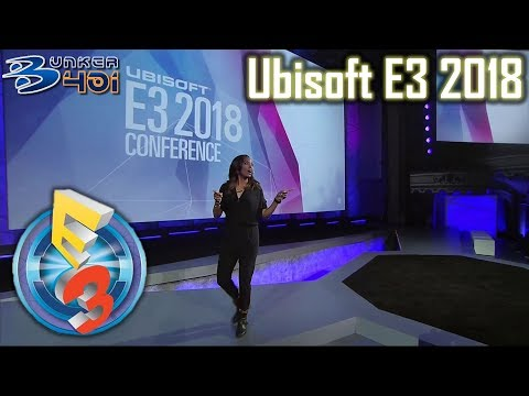 Conferencia Ubisoft E3 2018 : Ubisoft Streaming en directo