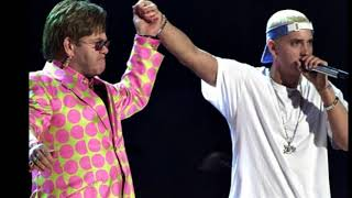 Eminen demostró a Elton John que no es homofóbico con un particular regalo