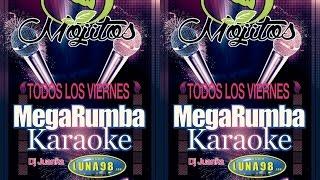 "Every Friday Night It's ""MEGA RUMBA KARAOKE"" At Mojitos! With DJ. Juank"