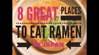 8 Best Ramen in Japan: Tokyo, Kyoto & Osaka!