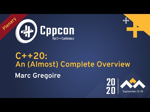 C++20: An (Almost) Complete Overview