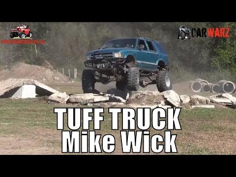 Mike Wick Chevy Blazer Second Round Stock Class Minto Tuff Truck Challenge 2018