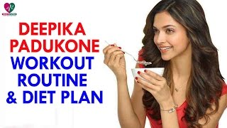 Deepika Padukone Workout Routine and Diet Plan || Womens Health - Health Sutra