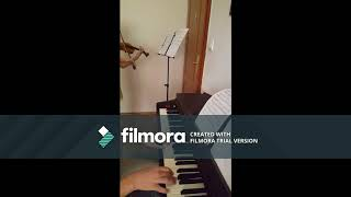 Faded - violin and piano