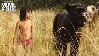 The Jungle Book - New TV Spot 'Attention' + Trailer [Disney Live-Action] HD