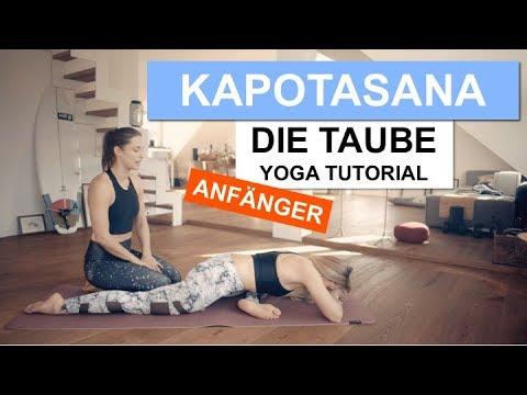 Die Taube - Kapotasana   Yoga Tutorial   SportScheck