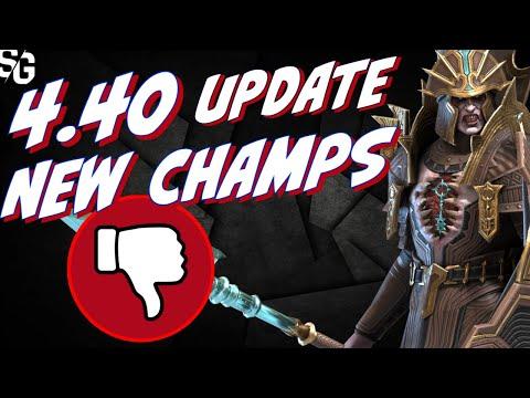 4.40 garbage champs | Update details Raid Shadow Legends