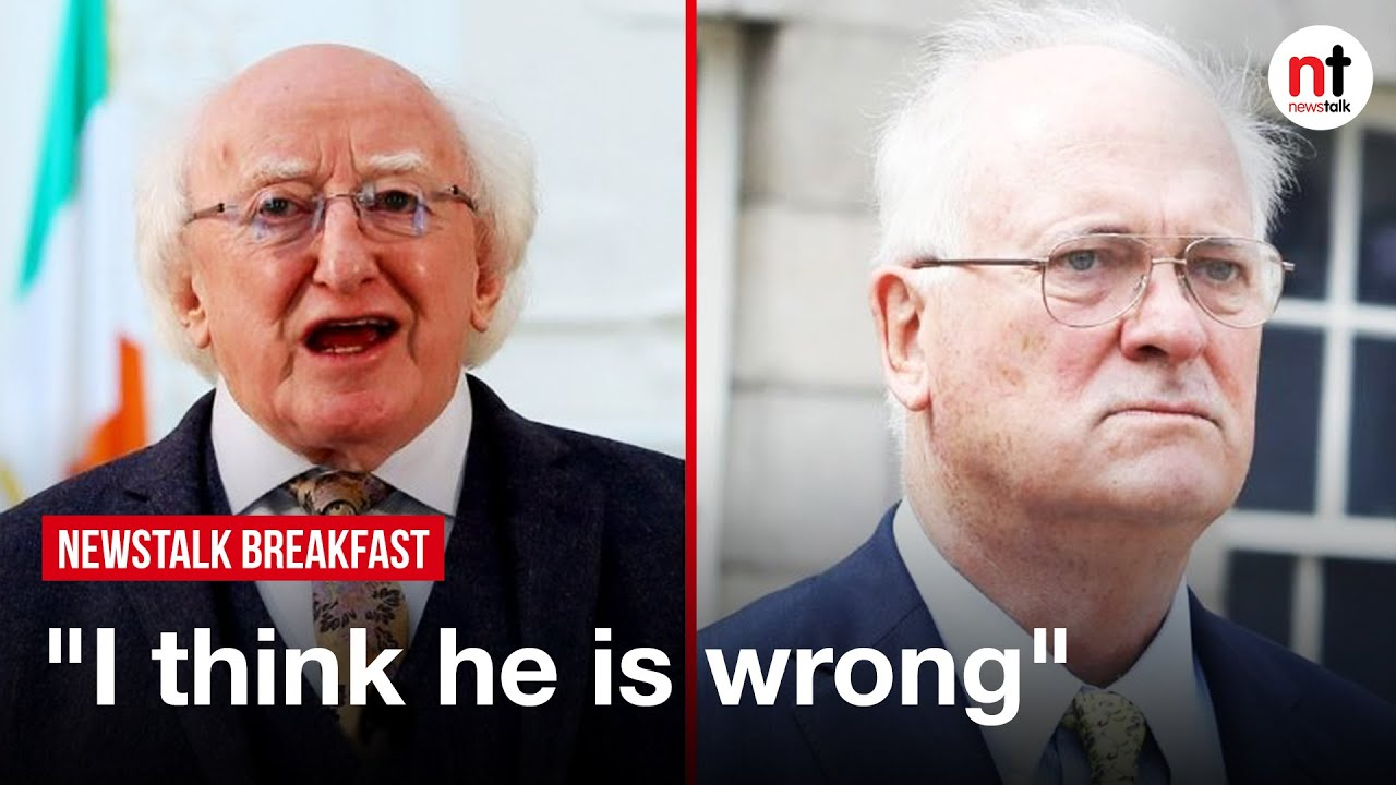 Higgins Hits back at Bruton over 'very Extraordinary' Criticism of NI Centenary Decision