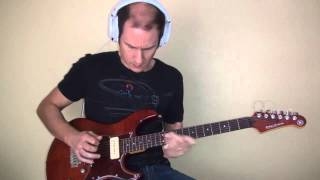 """""""Unchain my heart"""" sax solo played with guitar (LESSON + TABS + BACKING TRACKS)"""