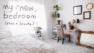 THE ULTIMATE BEDROOM MAKEOVER + room tour