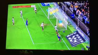 Goal Phillipe Coutinho 0-1 | Valencia CF - FC Barcelona 08-02-18
