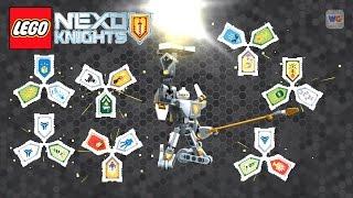NEW! Nexo Knights Battle Suit Triangulator Combo Power Shields