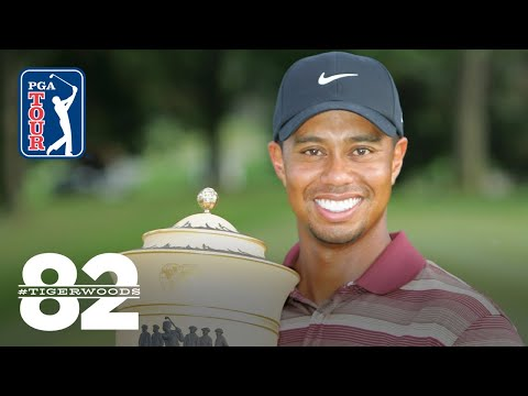 Tiger Woods wins 2005 WGC-NEC Invitational | Chasing 82
