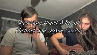 "Demi Lovato - ""Give Your Heart A Break"" (Michael Castro Acoustic Cover)"
