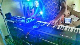 """Paolo Cercato - LIVE @ PERISCOPE (Agosto 2015) - """"Wring That Neck"""" (Deep Purple)"""