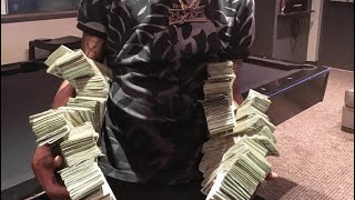 Key Glock (P.R.E.) Flex $250,000 In Cash | Spends $17,500 On Squad