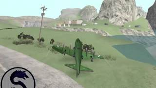 GTA San Andreas Hydra Stunts Part I