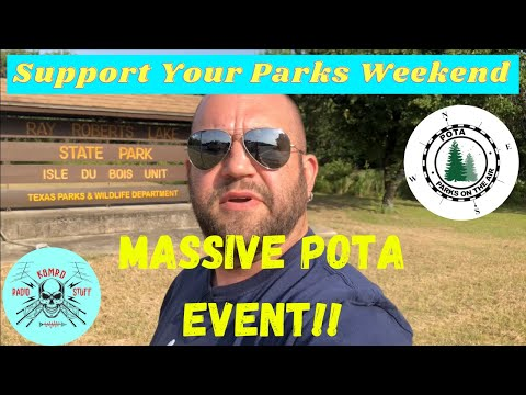 Support Your Parks Weekend | Biggest POTA Event of the year!!