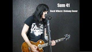 Mattie Foxx - Sum 41 - Back Where I Belong Cover