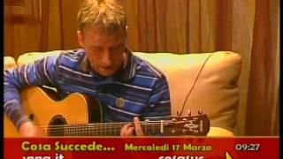 ALDO SUONA E CANTA IN DIRETTA TV - GLORIA  - UMBERTO TOZZI