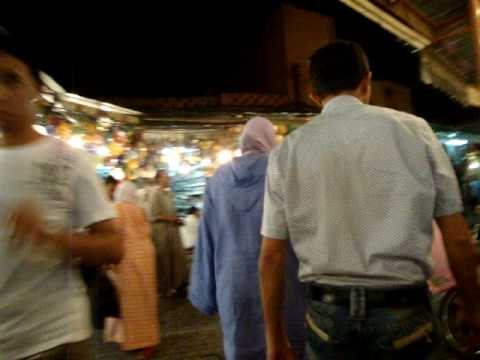 Walking the souks of Marrakech