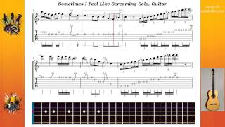 Sometimes I Feel Like Screaming Solo - Deep Purple - Guitar