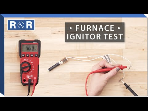 Supco # SIG101 - Continuity Test (Gas Furnace Ignitor)