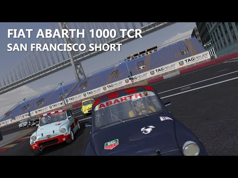 rFactor: Fiat Abarth 1000 TCR - San Francisco Short (classificació i carrera) [COMENTAT]