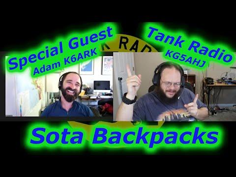 SOTA Backpacks with Adam K6ARK.