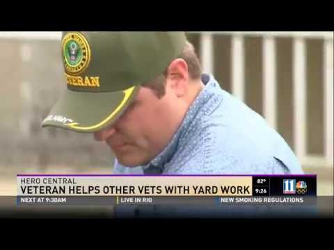 Montlick & Associates Recognizes Veteran Who Helps Other Vets With Yard Work