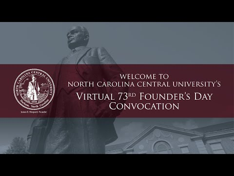 NCCU's 73rd Founder's Day Convocation