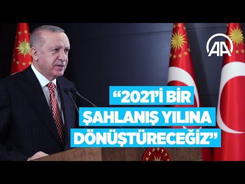 Cumhurbaşkanı Erdoğan: 2021 senesini ülkemiz ve milletimiz için bir şahlanış yılına dönüştüreceğiz