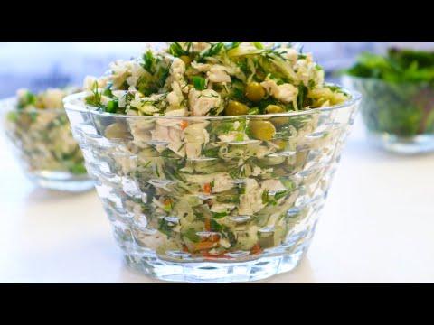 Ешьте этот Салат и Худейте!👍 Супер Салаты на Ужин!Два гениальных рецепта из простых продуктов