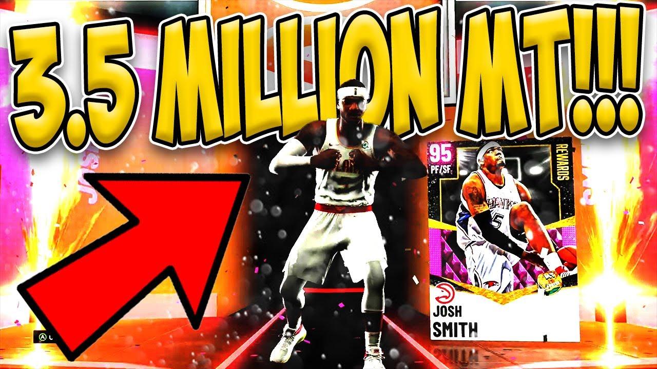 Spaceward Bird2 - NO MONEY SPENT - Episode #10 - Pink diamond Josh Smith - Glitched Tim Duncan - NBA 2K21 MyTeam - NMS