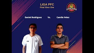 "Final Liga PFC Xbox One - Daniel ""Altair"" Rodriguez Vs. Camilo Velez (FIFA 18)"