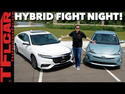 Compared: 2019 Honda Insight vs Toyota Prius 0-60 MPH Matchup Review
