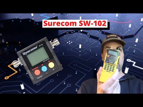 Surecom  SW-102s First Looks + MFJ Battle