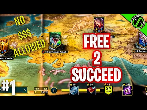 Can We Beat Raid With 0$ Spent?? Free 2 Succeed - EPISODE ONE