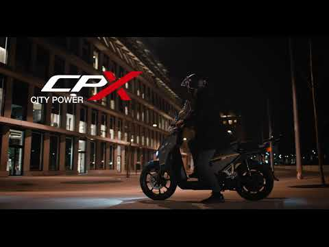 Super Soco CPX | City Power
