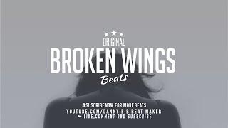 """Broken Wings"" - Sad Piano x Drums Instrumental (Prod: Danny E.B)"