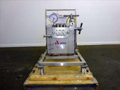 Used- APV Gaulin GMBH Homoginizer - stock # 48130001