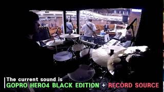 예배반주 l GOPRO HERO4 BLACK EDITION & RECORD SOURSE 소리 비교 by 드러머 손득일 삼호침례교회 청년부 퇴장송 中