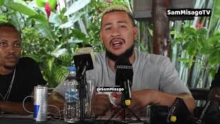 Rapper A.K.A wa South Africa Athibitisha Collabo Mpya Na DIAMOND, HARMONIZE / Ni Baada ya Kutua TZ