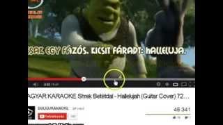 Shrek Hallelujah Tünditől.:)